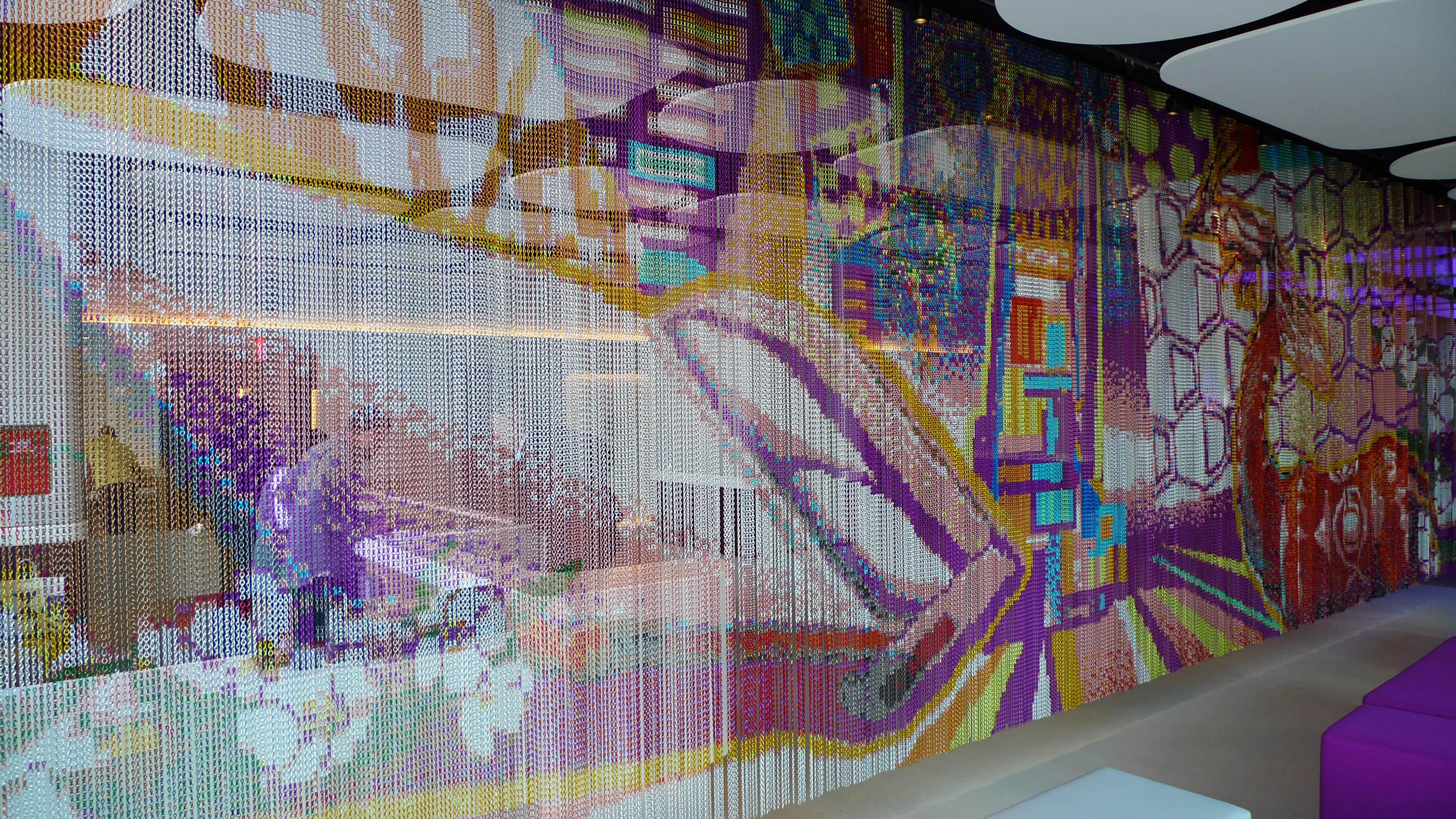 Textiles met licos escaparate del dise o - Disenos textiles del mediterraneo ...