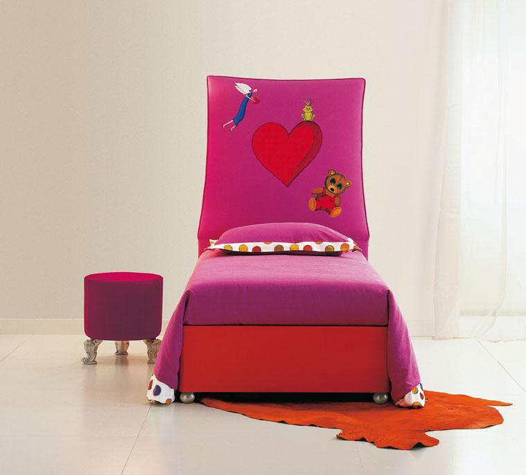 Muebles tapizados infantiles escaparate del dise o - Cabeceros infantiles tapizados ...