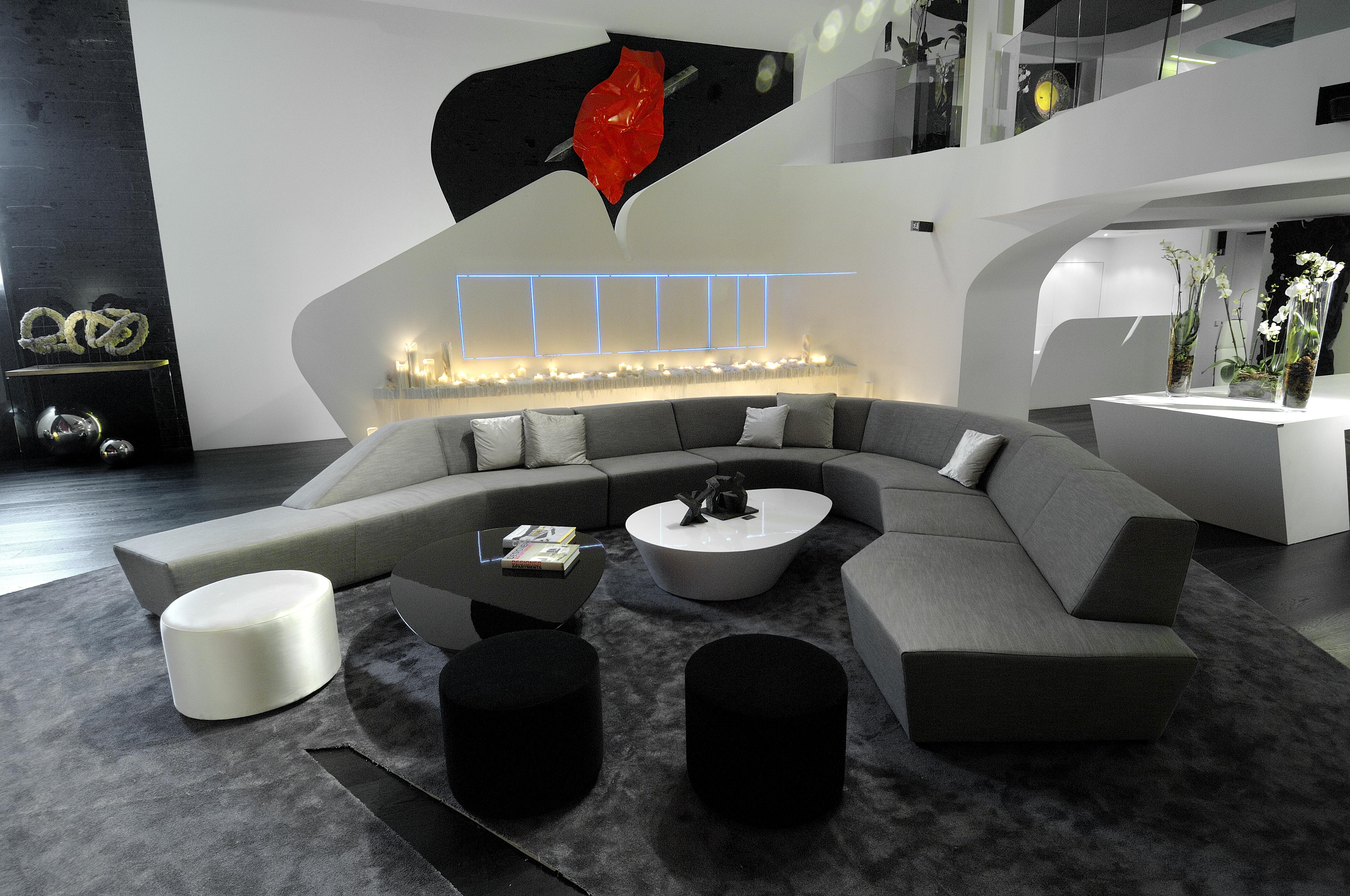 Ideas Para Salas Muy Grandes Y Amplios Espacios De Living - Salones ...