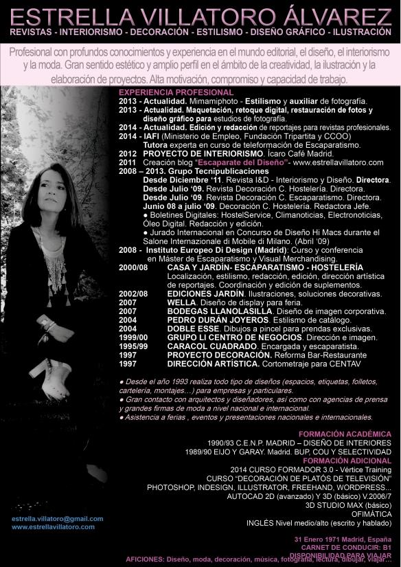 CV Estrella Villatoro jun16
