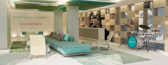 hotel santos ibiza Coast Suites recepcion3