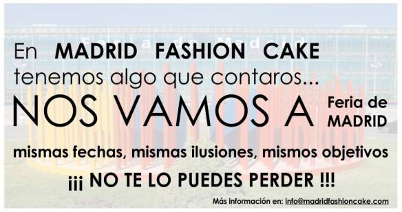 Madrid Fashion Cake