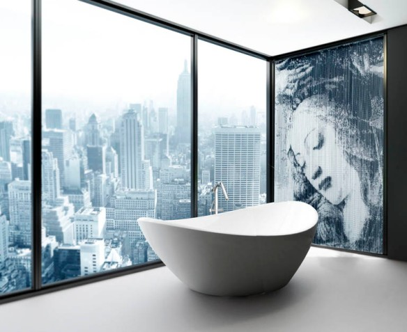 kriskadecor Exclusive Luxury Bathroom Interior in a Penthouse