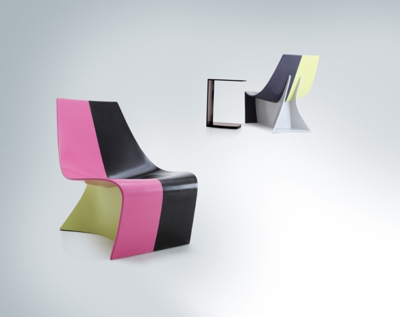 HI-MACS Sparkle furniture designed by Karim Rashid-low