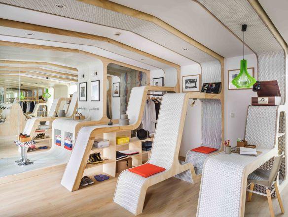 Espacio Modulor de Hisbalit y Zooco estudio Casa Decor 2014